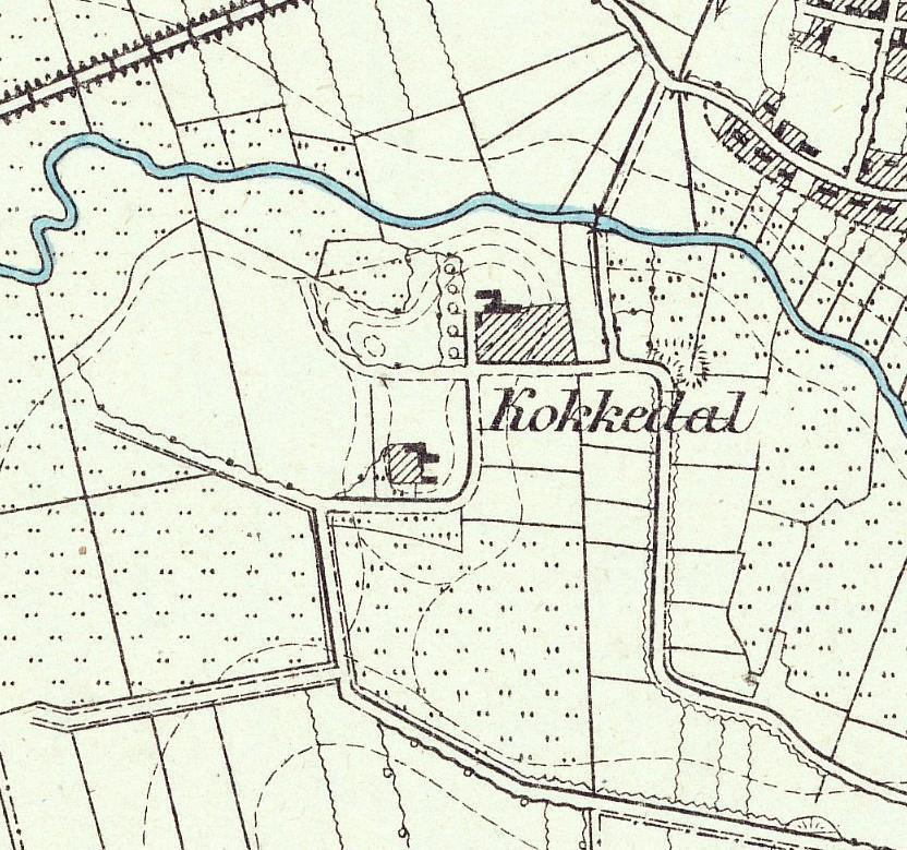 Messtischblatt 1878
